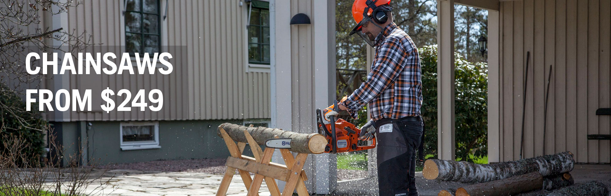 Chainsaws From $249
